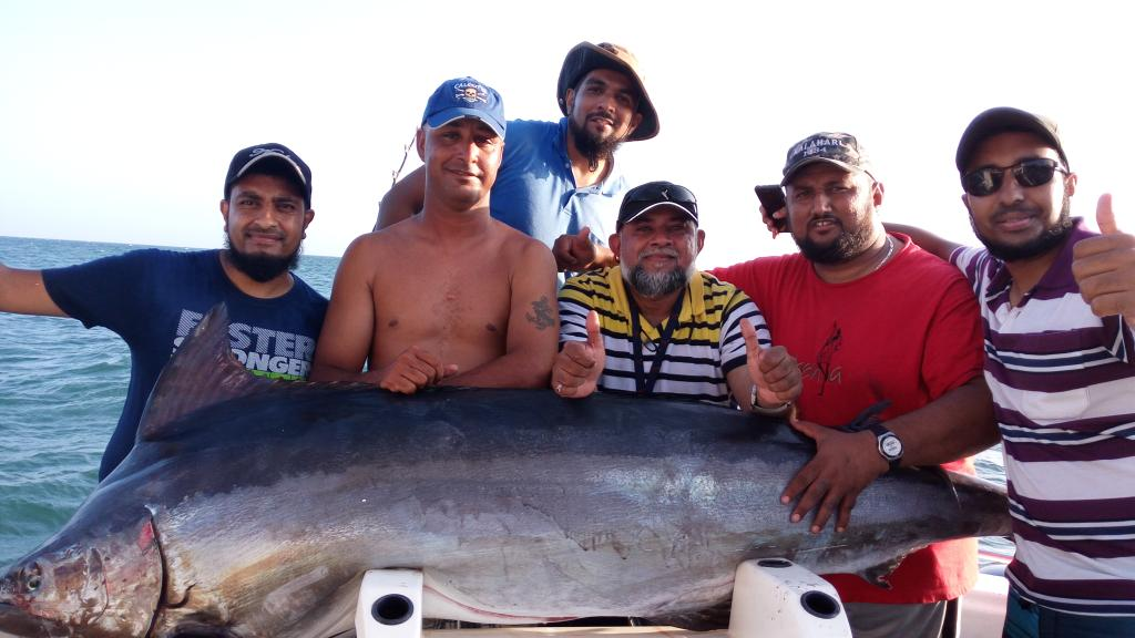 The Black Marlin catch